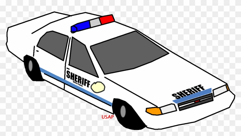 Gta V Clipart - Gta 5 Police Car Transprent #48767