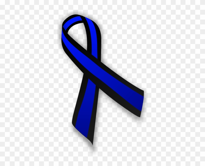Support Law Enforcement - Brain Aneurysm Awareness Ribbon #48835