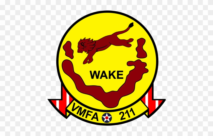 Usmc Vmfa-211 Wake Island Avengers Sticker - Come And Take It Flag #48894