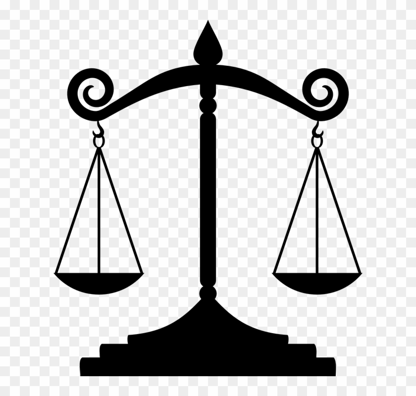 Law Liberty Scale Weight Balance - Rule Of Law Drawing #49035