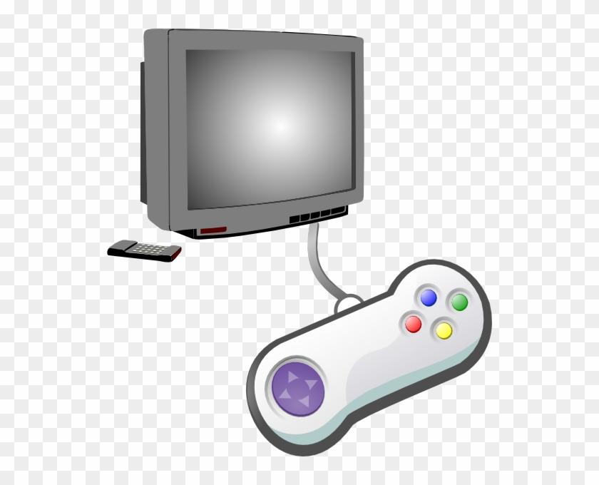 Play - Video Game Controller Clip Art #49077
