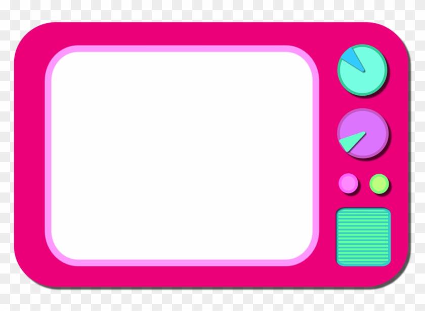 Tv Clipart Pink - Tv Retro Png #49097