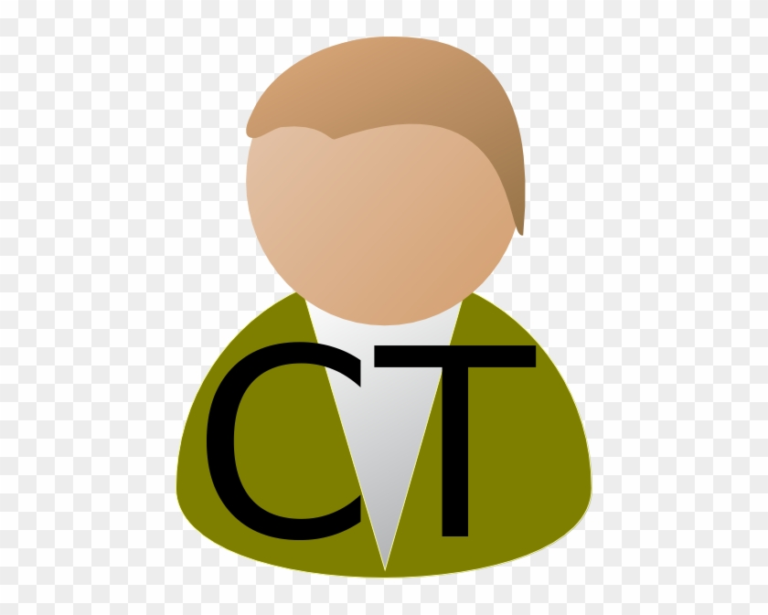 How To Set Use Icon Tv Ct 16 Svg Vector - Person Clip Art #49112