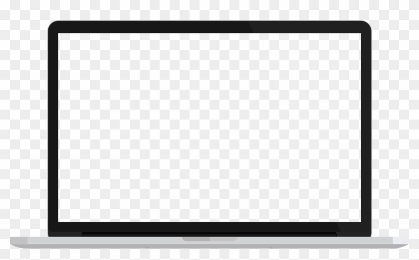 flat screen tv clip art macbook pro template png free