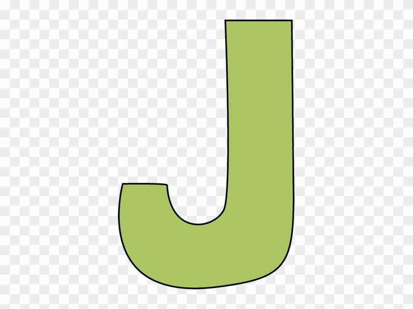 J Clipart, - Letter J Clipart #49209