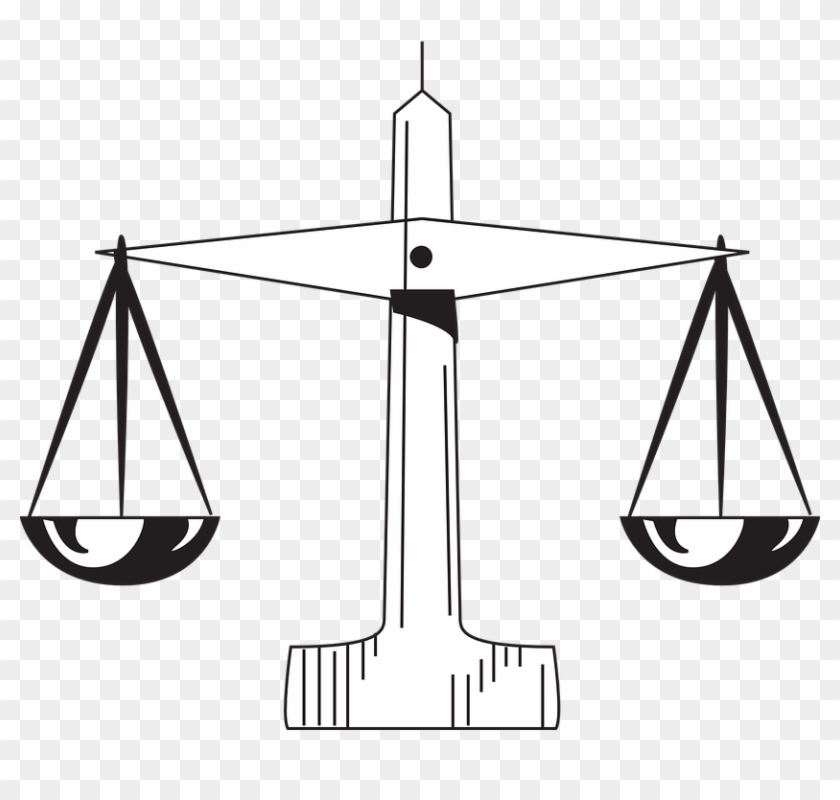 Scale Law Judgement Supreme Measure Attorney - Scale Of Justice #49420