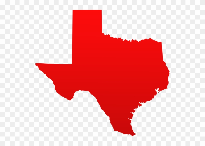 Free Clipart Of Outline Texas Clipart - Texas Map With Austin #49470
