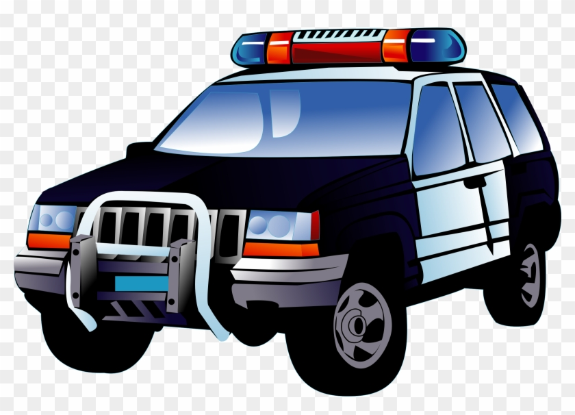 Police Off-road Car Png Clipart - Clipart Police Car #49502