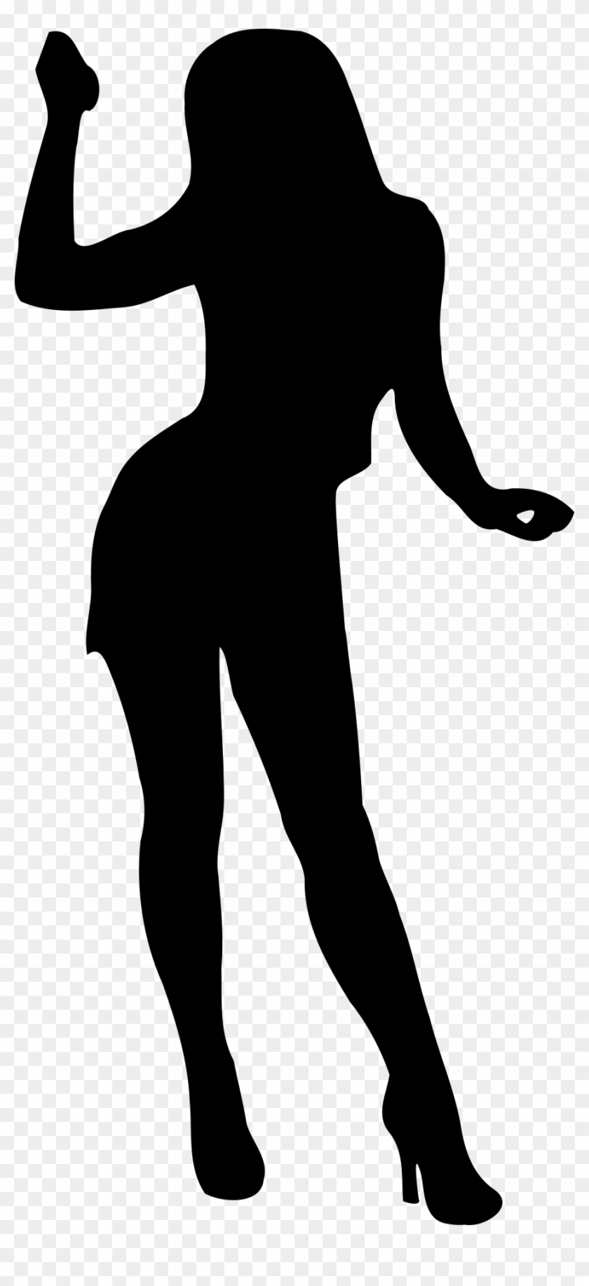 Shadow Clipart Female Body Full Body Silhouette Girl Free Transparent Png Clipart Images Download