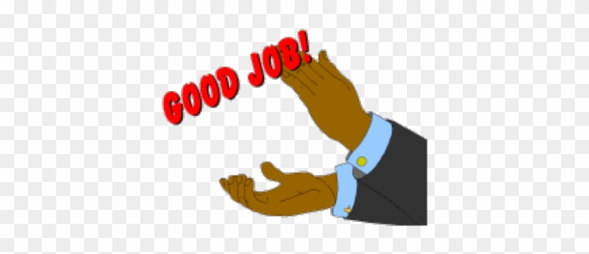 Pin Great Job Animated Clip Art - Good Job Clapping Hands #49644
