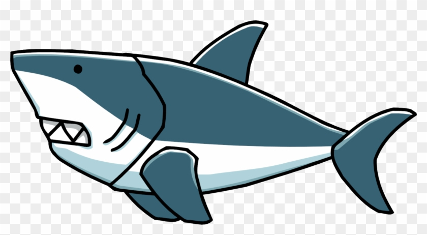 Shark Clipart Png Transparent - Great White Shark Clip Art #49725