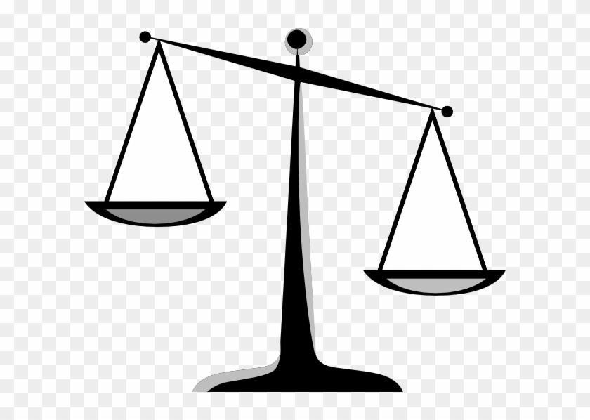 Judge Clip Art Gallery - Scales Of Justice Clip Art #49762
