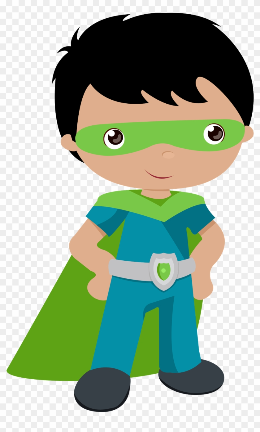 Kids Dressed As Superheroes Clipart Oh My Fiesta For - Super Hero Clipart Png #49873