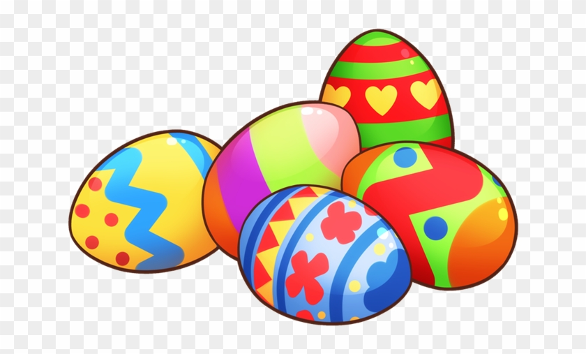 Download Easter Clip Art Free Clipart Of Easter Eggs - Easter Eggs Transparent Png #50095