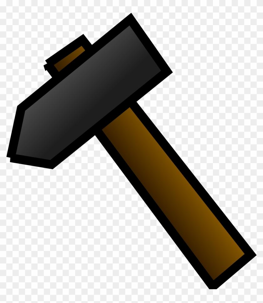 Gavel Hammer Clip Art Free Vector 4vector 2 Clipartix - Hammer Clipart #50220