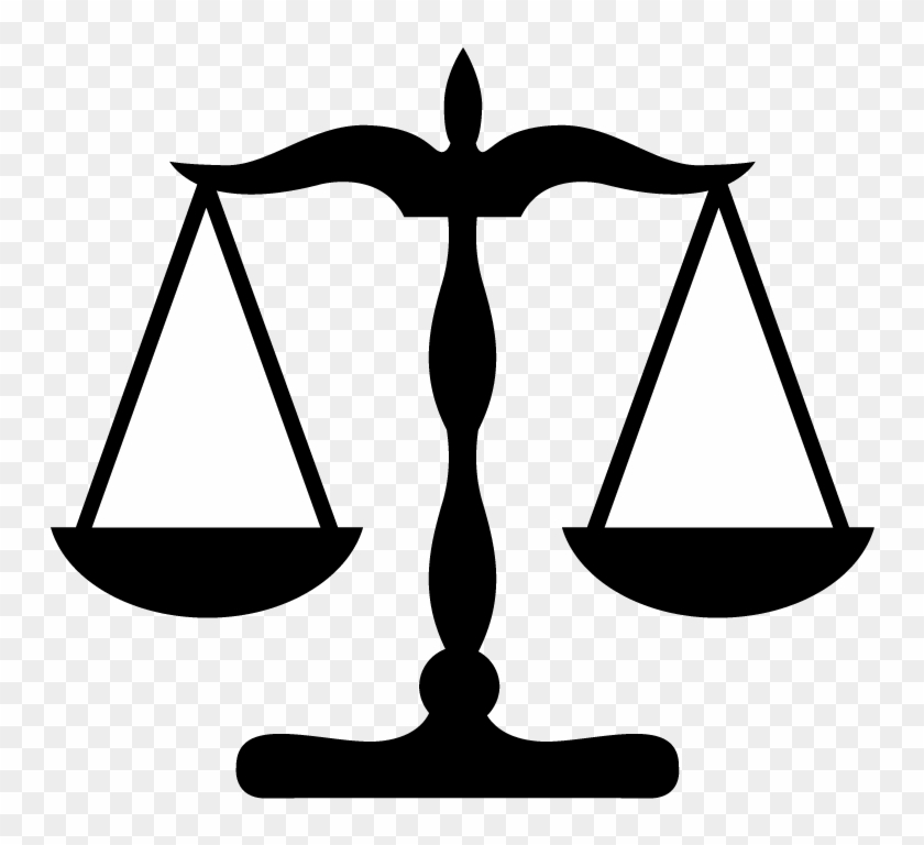 Symbol Lawyer Justice Clip Art Scales Of Justice Clip Art Free