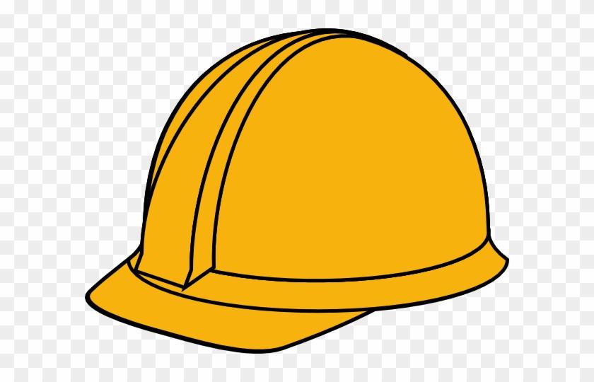 White Hard Hat Clip Art At Clker Com Vector Clip Art - Yellow Hard Hat Clipart #50472
