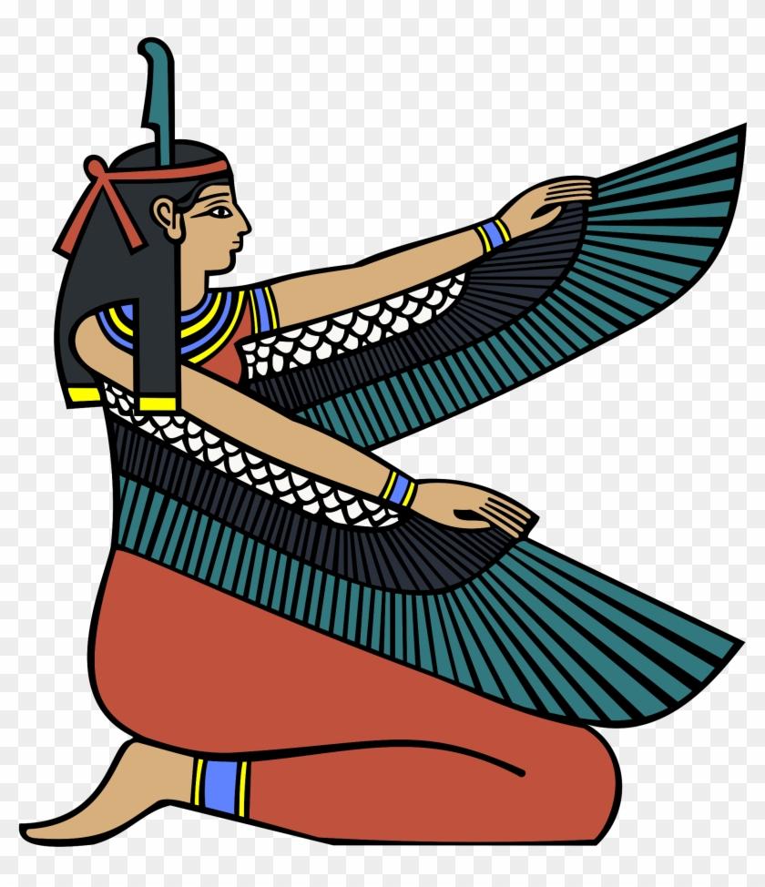 Big Image - Egyptian Goddess Maat Journal #50575