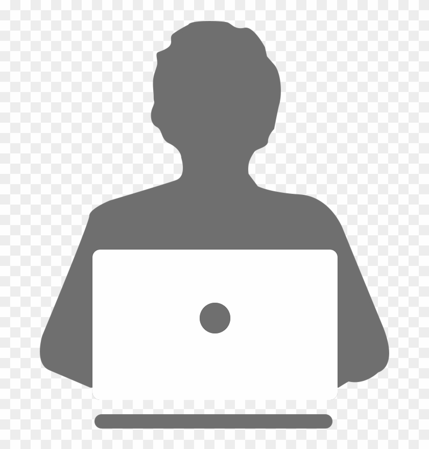 Home User Icon - User And Laptop Icon #50590