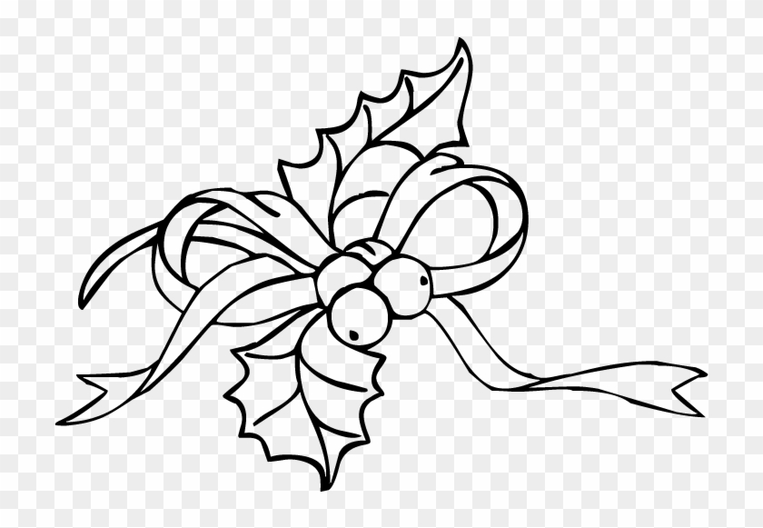 christmas holly ivy clipart christmas holly coloring pages