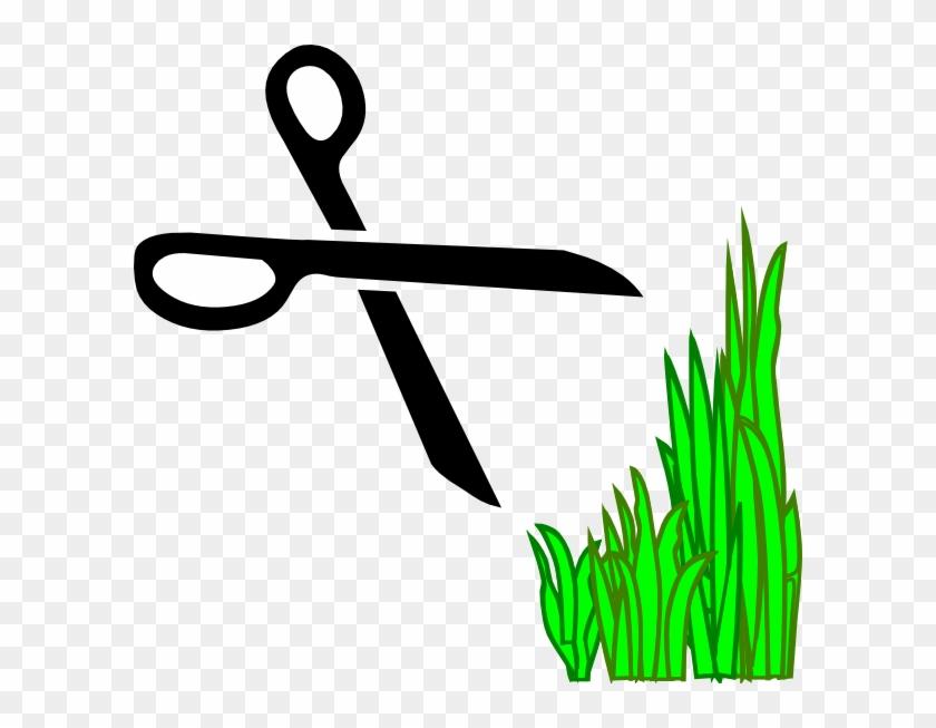 Lawn Trimmers Clip Art - Decal Guru Cut Here Wall Decal, Black #51152