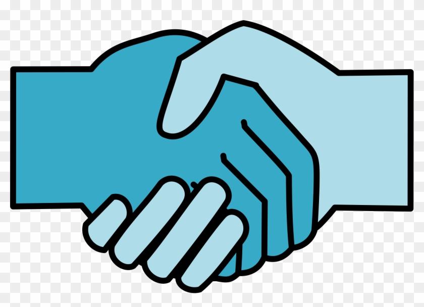 To Reduce Extremism, Bridge The Government-society - Handshake Icon #51267