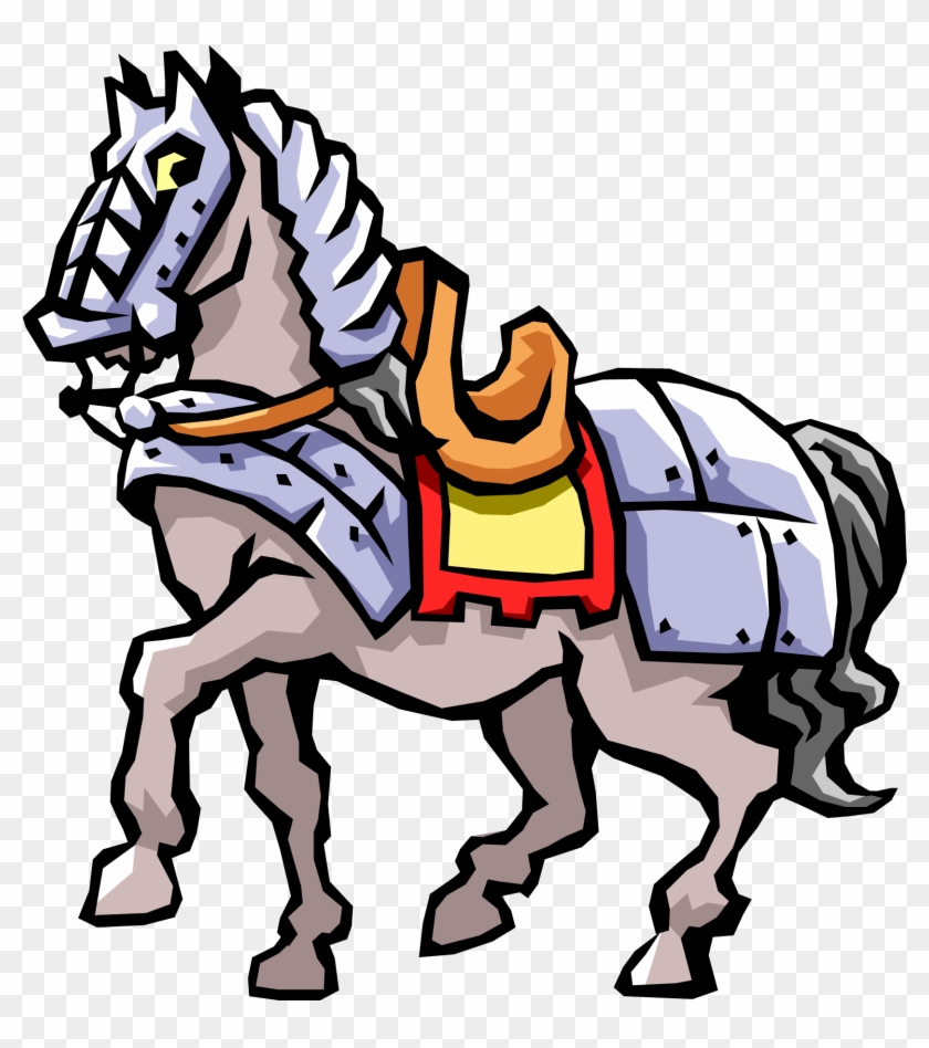 Government - Knight's Horse Clipart #51304