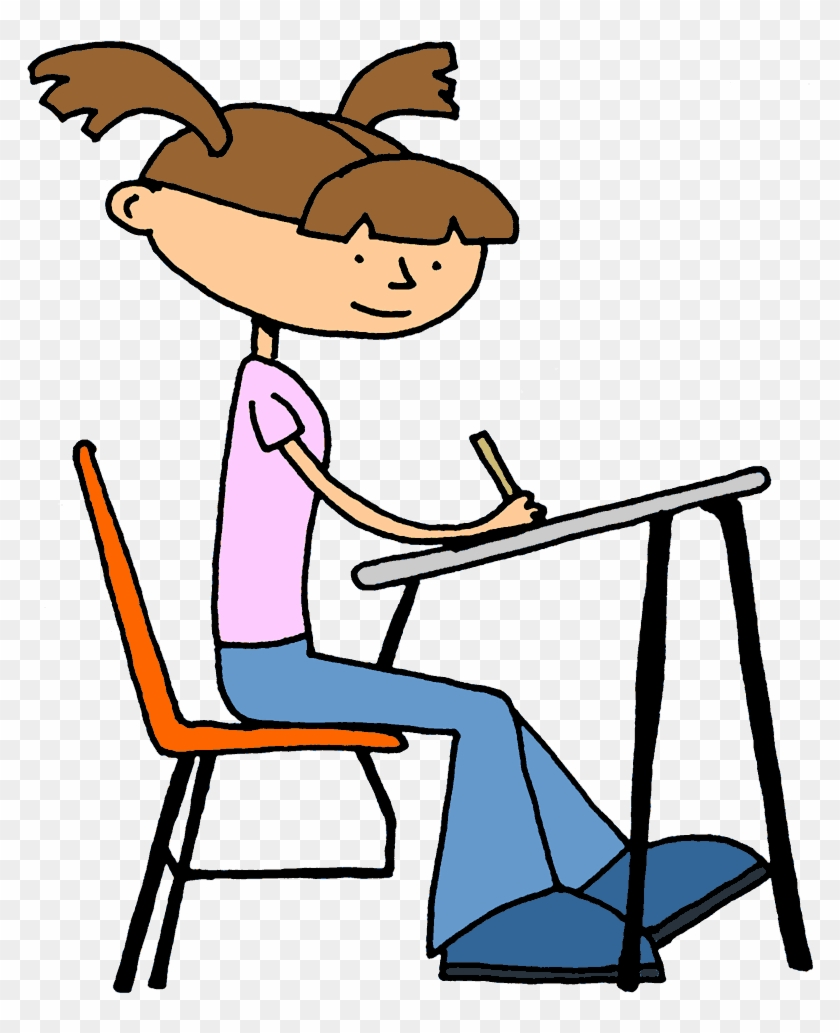 student clip art 2 800x962 - student working clipart - free