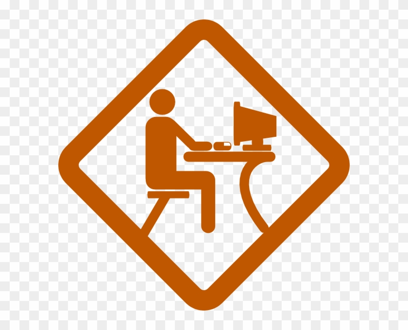 man working clip art at clker caution drone at work a workplace