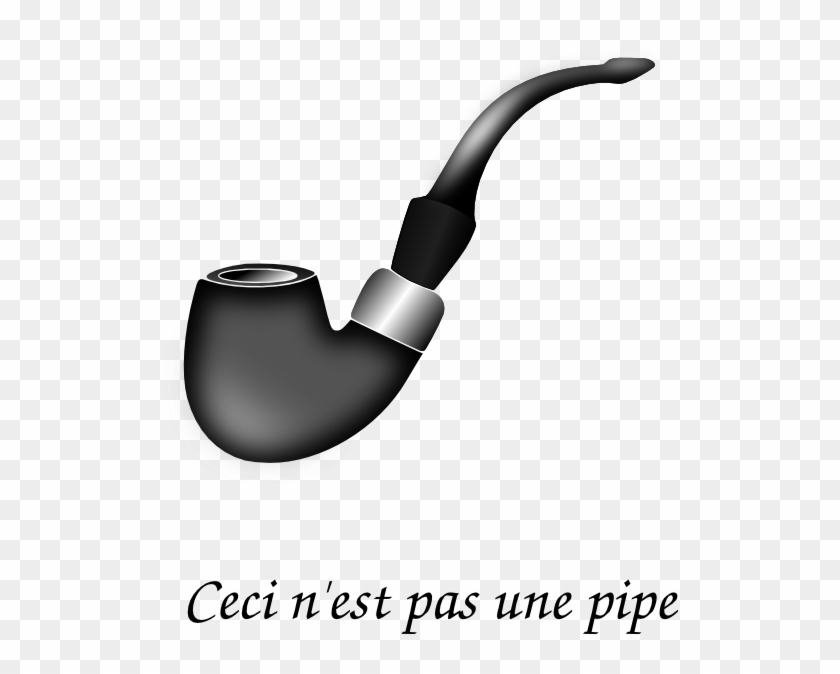 Tobacco Pipe No Shadow Clip Art - Sherlock Holmes Pipe Vector #51458