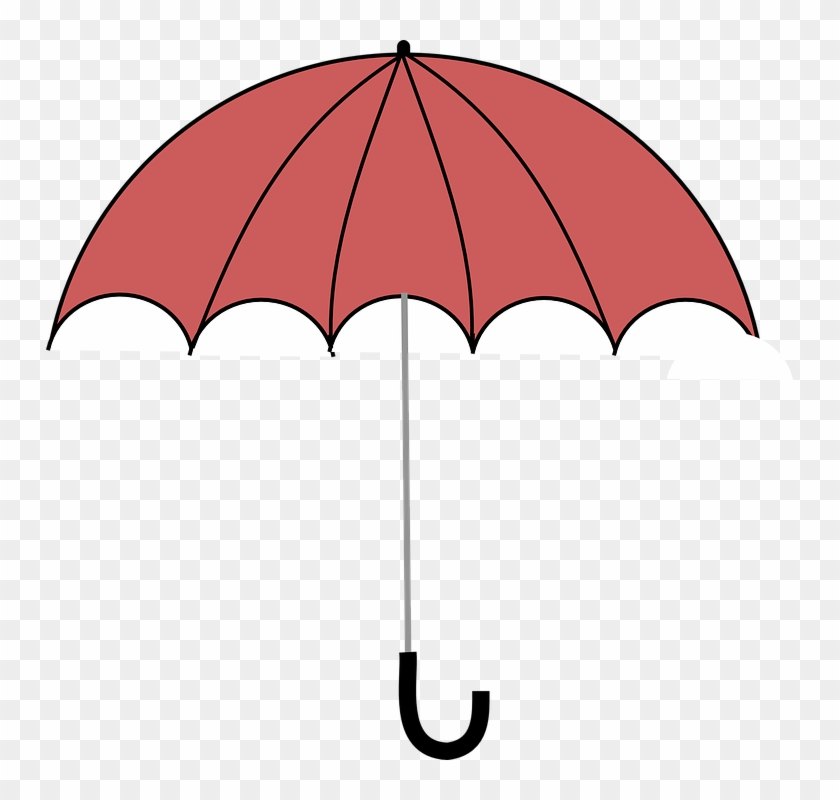 Umbrella Clipart Coral - Umbrella Clipart #51584