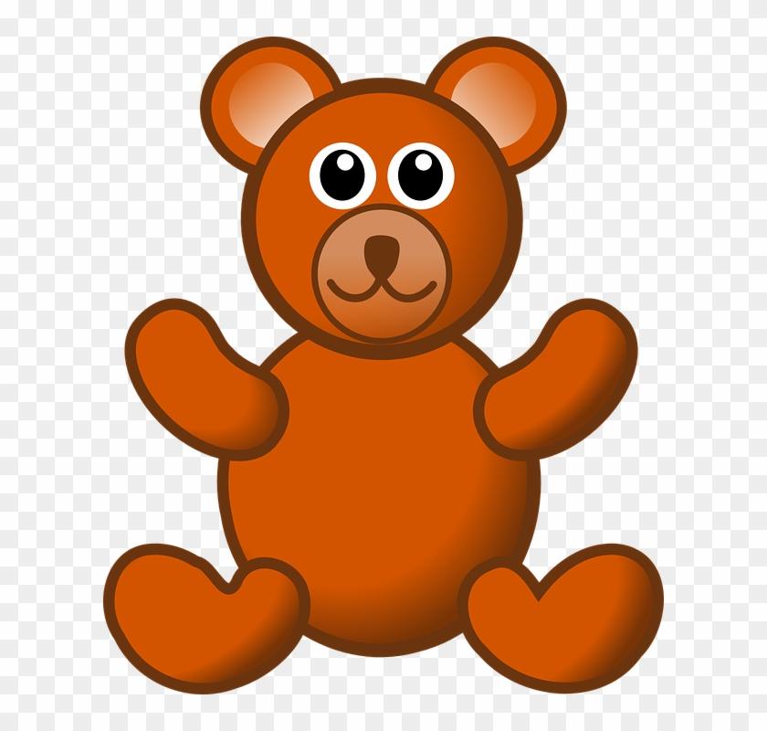 Teddy Bear Clip Art Free Clipart Clipartbold - Brown Teddy Bear Clip Art #51605