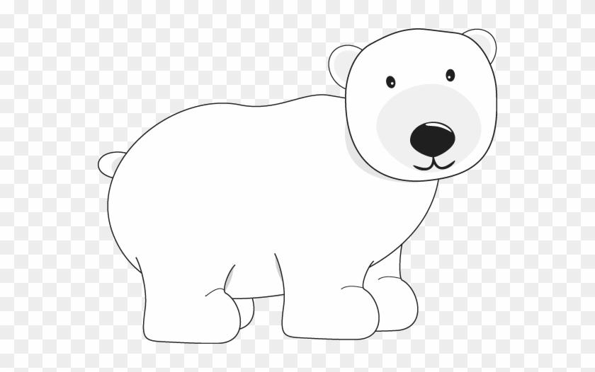 Polar Bear - Clip Art Polar Bear #51607