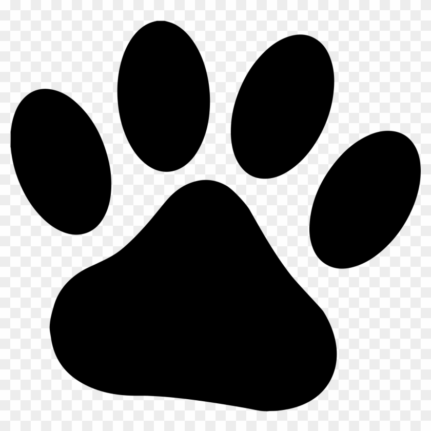 Start Your Research - Dog Paw Print Clip Art #51715