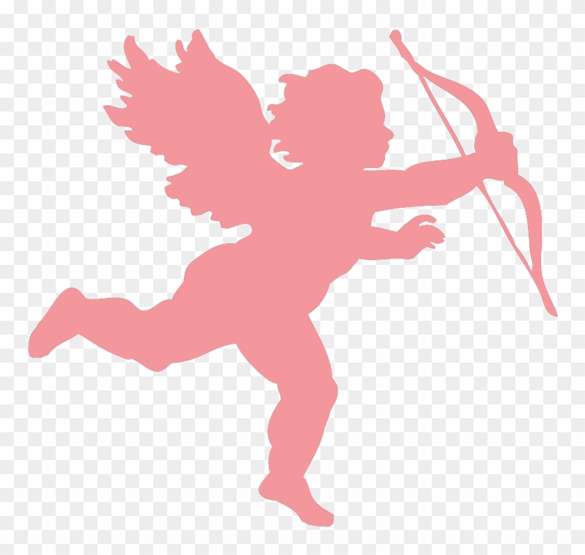 Pink Valentines Day Cupid, Valentine Clipart Red - Valentines Day Png #51733
