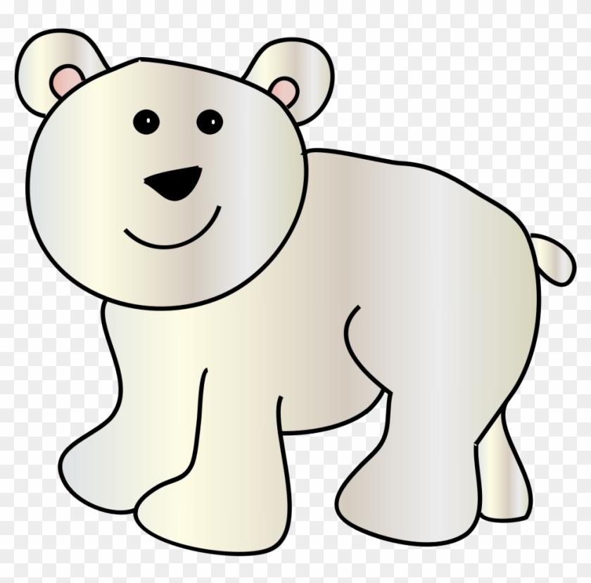 Polar Bear Clip Art Polar Bears And Clipartix - Polar Bear Clip Art #51886