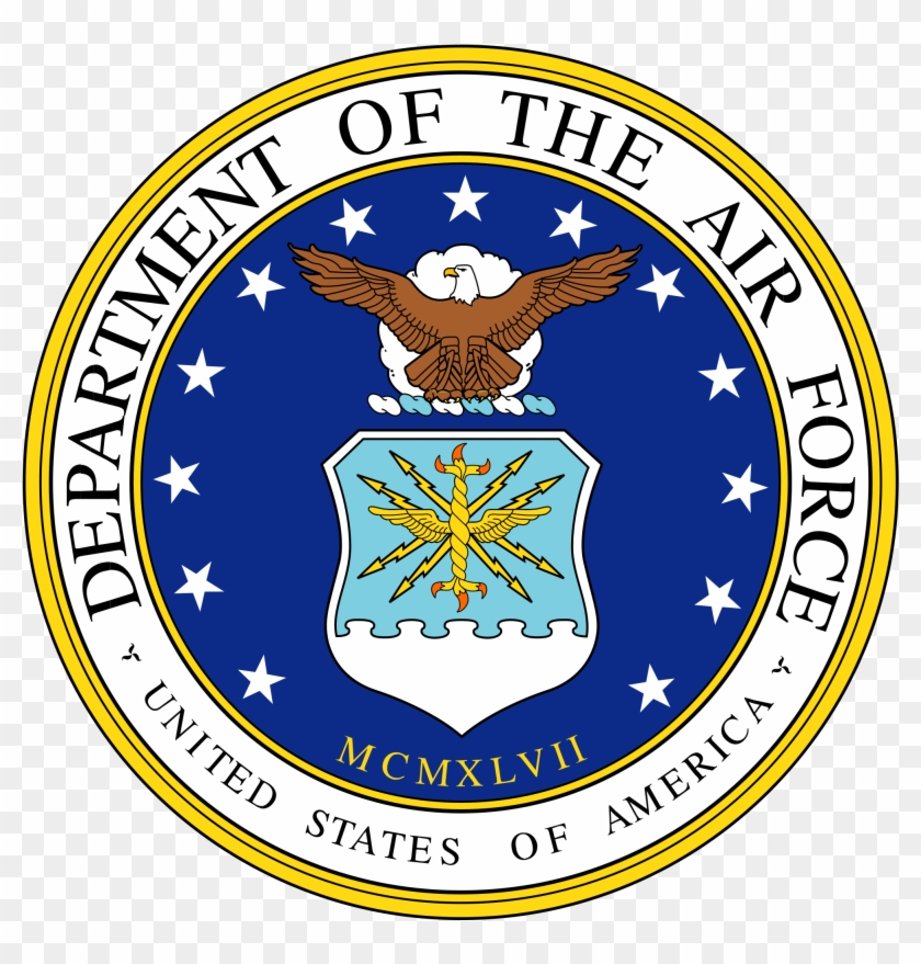 Seal Of The Us Air Force Clipart - United States Air Force Seal #51930