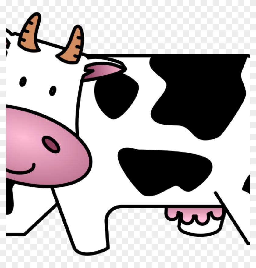 Cute Cow Clipart Free Cute Friendly Cartoon Cow Clip - Cows Clipart #52270