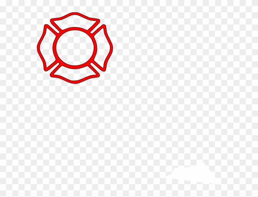 Firefighter Maltese Cross Stencil #52295