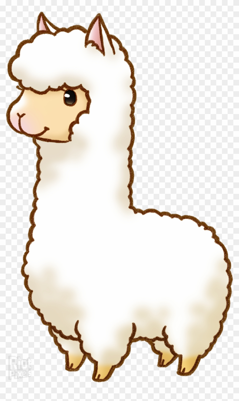 Llama Alpaca Drawing Cartoon Clip Art - Harvest Moon Twin Villages #52330