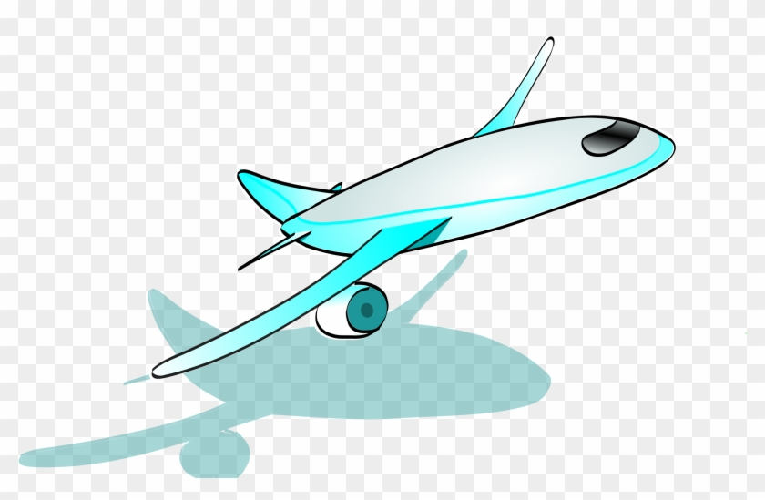 Clipart Airplane Cartoon Sprout - Cartoon Plane Taking Off #52652