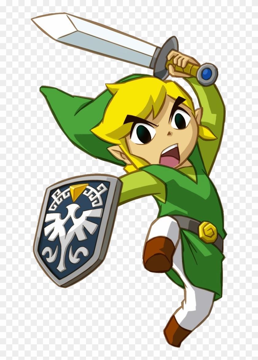 Download Png Image - Legend Of Zelda Spirit Tracks Link