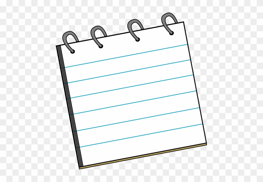 Detective Notepad - Clip Art Note Pad #52733