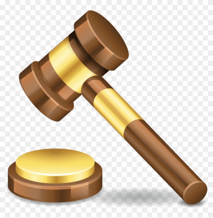 [from - Judge Hammer Transparent Background #52928