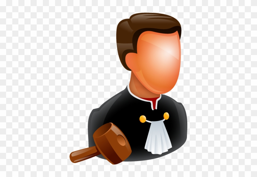 Judge Icon - Lawyer Icon #53131