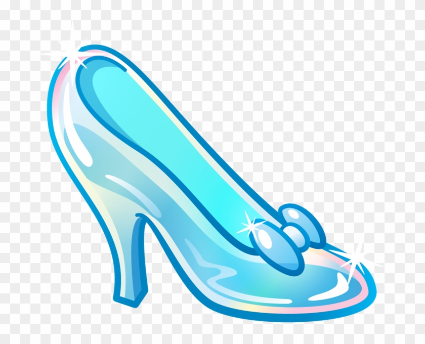 Shoe Clipart Cinderella - Glass Slipper From Cinderella ...