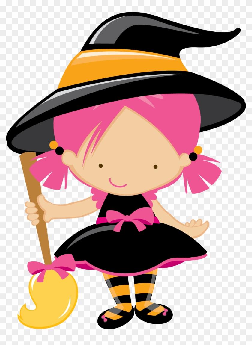 Resultado De Imagem Para Bruxinha Desenho Cute Witch Clipart
