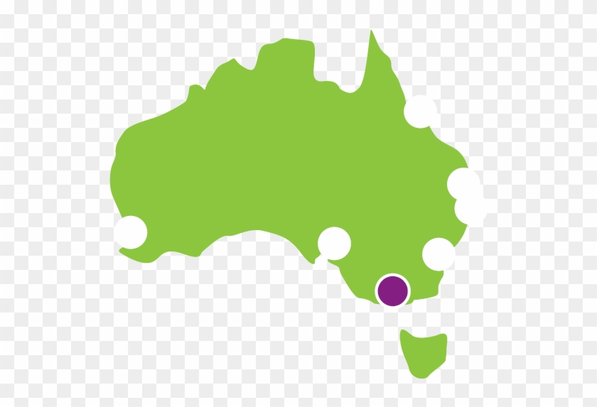 Book A Vehicle From Melbourne City - Sydney Australia Map Png #270969