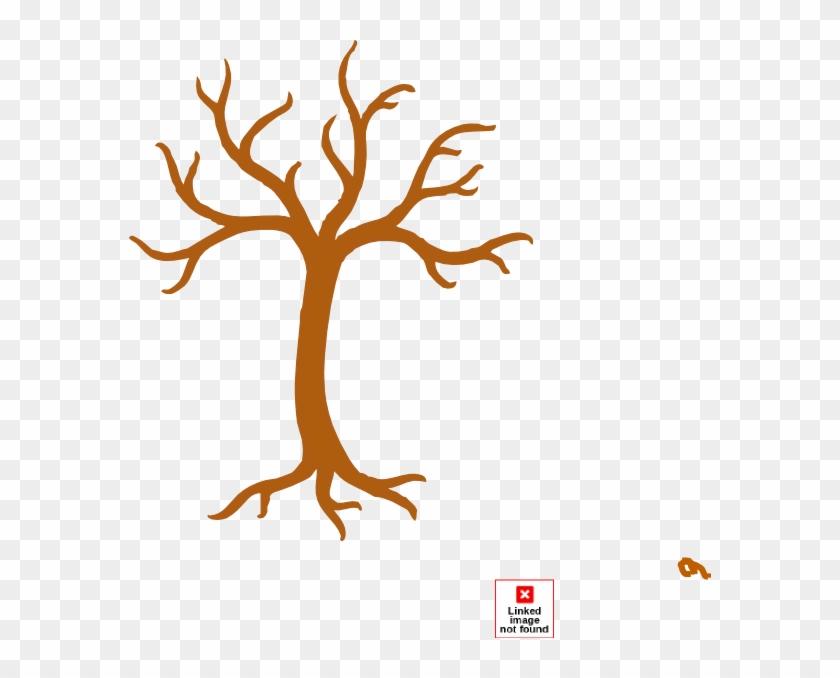 Tree No Leaves Clip Art - Bare Tree Clip Art #271192