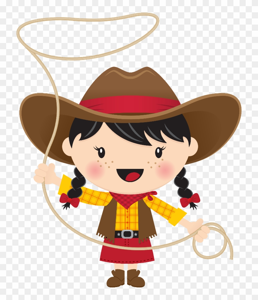 Sensational Cowgirl Clipart Minus Say Hello Western - Cowboy And Cowgirl Clipart #271543